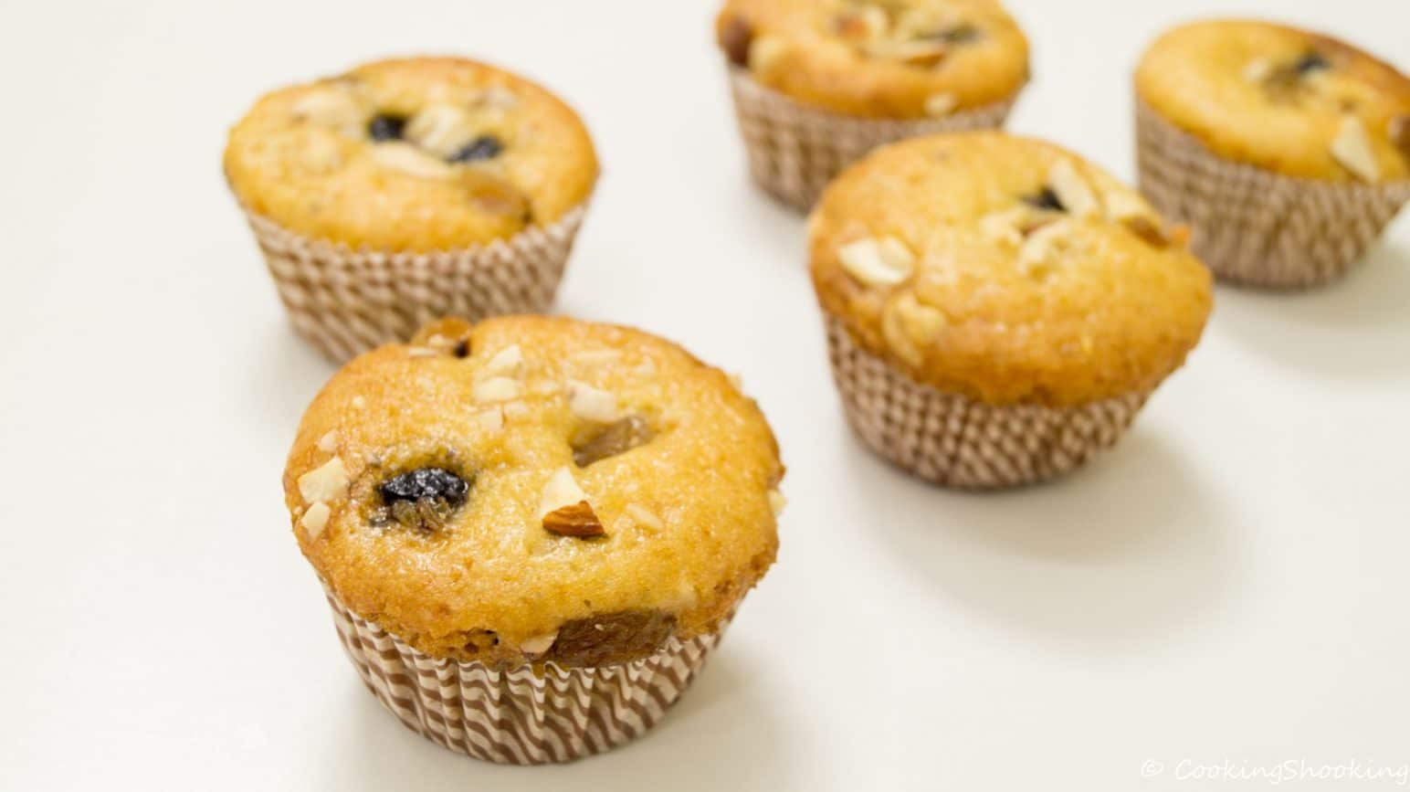 Dried Fruit Muffins Can Be Heavenly