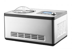 Gourmia GSI400 Automatic Ice Cream Maker Stainless Steel