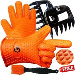 Grace Kitchenwares Silicone BBQ Cooking Gloves Product Image