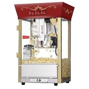 Great Northern Popcorn Red Matinee Movie Theater Style Antique Popcorn Machine Product Image