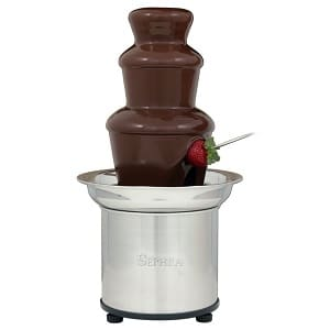 Sephra 17302 The Select 16-Inch Stainless Steel Home Fondue Fountain Product Image