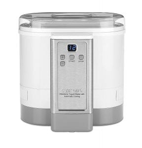 The Cuisinart CYM-100 Electronic Yogurt Maker With Automatic Cooling