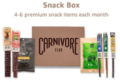 Carnivore Club Snack Box Product Image