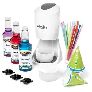 Hawaiian Shaved Ice and Snow Cone Machine Party Package Product Image
