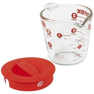 Pyrex Prepware 2-Cup Glass Measuring Cup with Lid Product Image