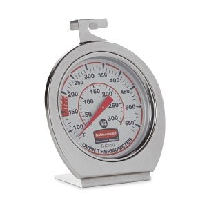 Rubbermaid Commercial FGTHO550 Stainless Steel Oven Monitoring Thermometer Product Image