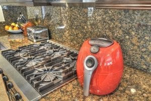 Air Fryer by Avalon Bay In Use