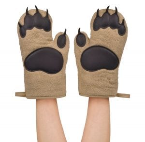Fred BEAR HANDS Oven Mitts Product Image