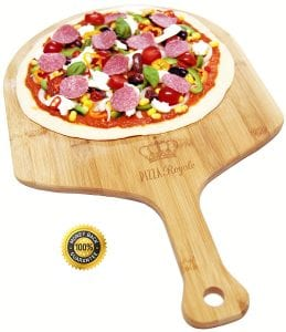 Pizza Royale Ethically Sourced Premium Natural Bamboo Pizza Peel Product Image