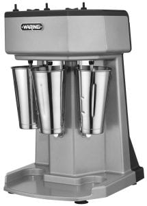 Waring Commercial WDM360 Heavy Duty Diecast Metal Triple Spindle Drink Mixer Product Image