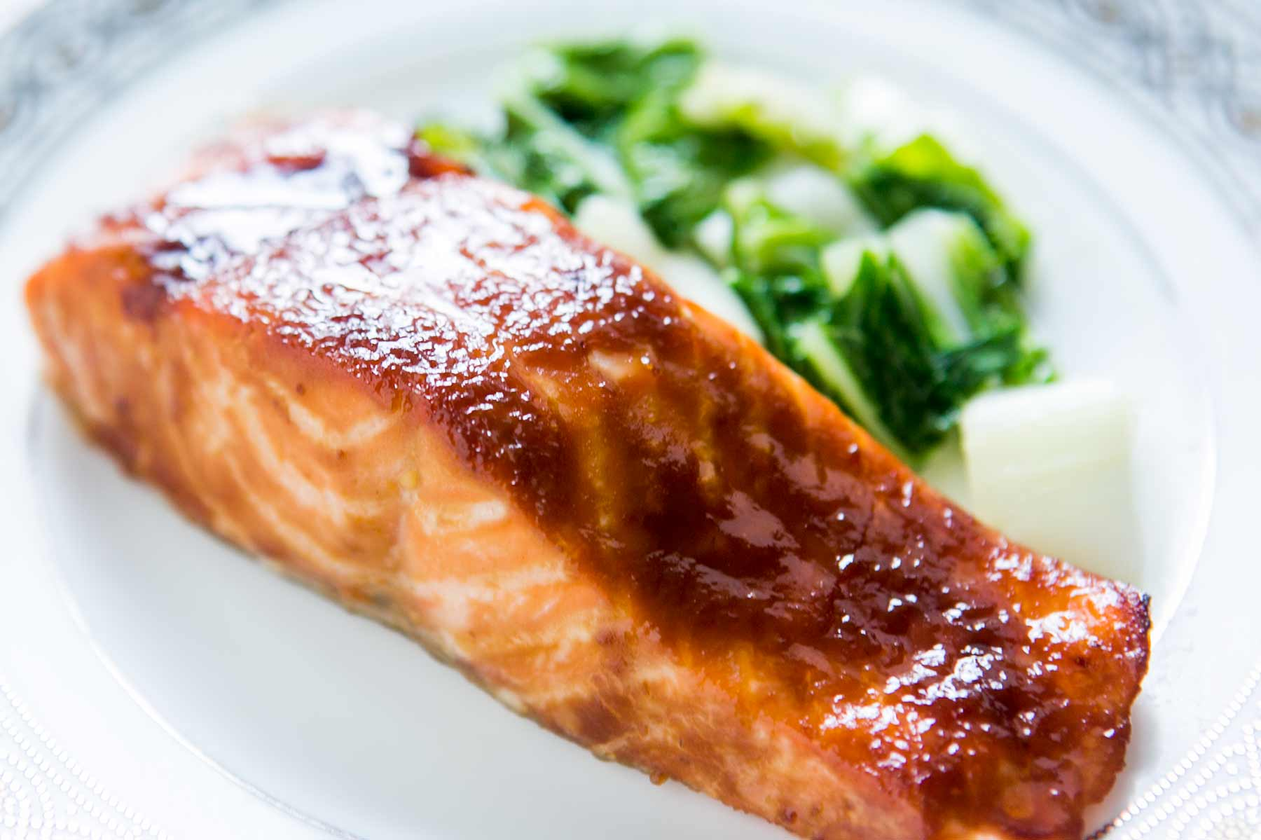 Baked Salmon with Miso