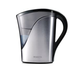 Brita Medium 8 Cup Stainless Steel Water Pitcher with Filter product image
