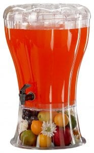 Buddeez Unbreakable 3-1 2-Gallon Beverage Dispenser with Removable Ice-Cone product image