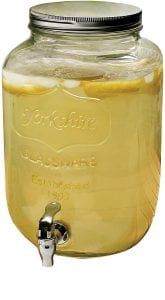 Circleware Yorkshire Sun Tea Mason Jar Glass Beverage Drink Dispenser product image