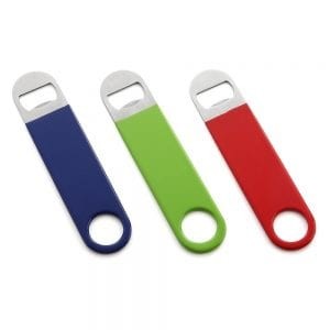 HQY 3 Pack Heavy Duty Stainless Steel Flat Bottle Opener product image