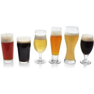 Libbey Craft Brews 6-piece Assorted Beer Drinkware Glass Set product image