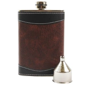 Primo Liquor Flasks 8oz Stainless Steel product image