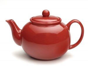 RSVP Large Stoneware 6-Cup Teapot Product Image