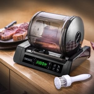 STX International STX-1000-CE Chef's Elite 15 Minute Meat Vegetable Marinator Vacuum Product Image