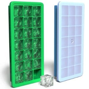 Vremi Silicone Ice Cube Trays with Lids product image