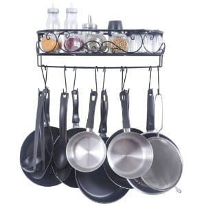5 Best Pot Racks for your Kitchen
