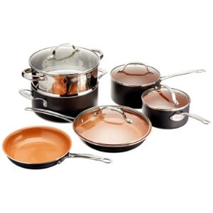 Gotham Steel 10 Piece Kitchen Set With Non Stick Ti Cerama Coating By Chef Daniel Green Product Image