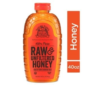 Nature Nate's 100 Pure Raw Unfiltered Honey Product Image