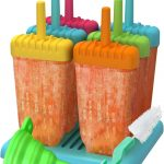 Ozera Reusable Popsicle Molds Ice Pop Molds Maker Product Image