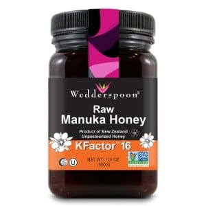 Wedderspoon Raw Premium Manuka Honey Kfactor 16 Product Image