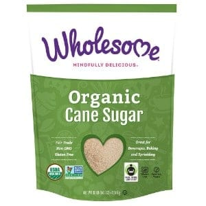 Wholesome Sweeteners Organic Fair Trade Sugar Product Image