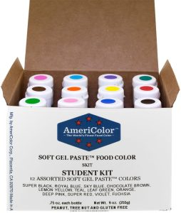 Americolor Student Gel Food Coloring Product Image