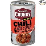 Campbell's Chunky Hot & Spicy Beef & Bean Firehouse Chili Product Image