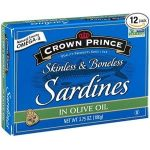 Crown Prince Skinless & Boneless Sardines In Olive Oil Product Image