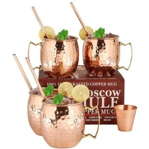A29 Moscow Mule Copper Mugs Product Image