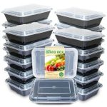 Enther Bento Box Meal Prep Containers Product Image