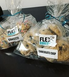 Flex Bakery Protein Cookie Packs
