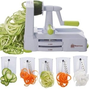 Brieftons 5 Blade Spiralizer Product Image