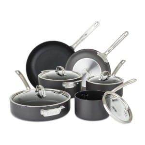 Viking 40051 9910 Hard Anodized Nonstick Cookware Set, 10 Piece Product Image