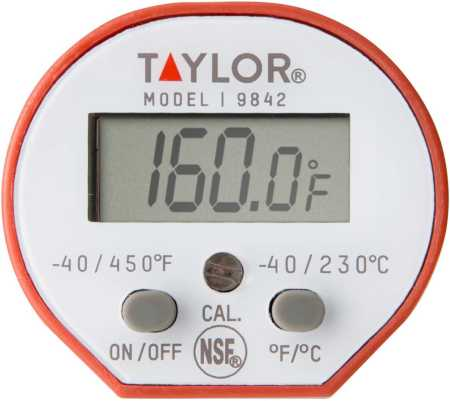 Taylor Commercial Waterproof Cooking Digital Quick-Read Thermometer