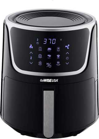 GoWISE USA GW22956 7-Quart Electric Air Fryer with Dehydrator